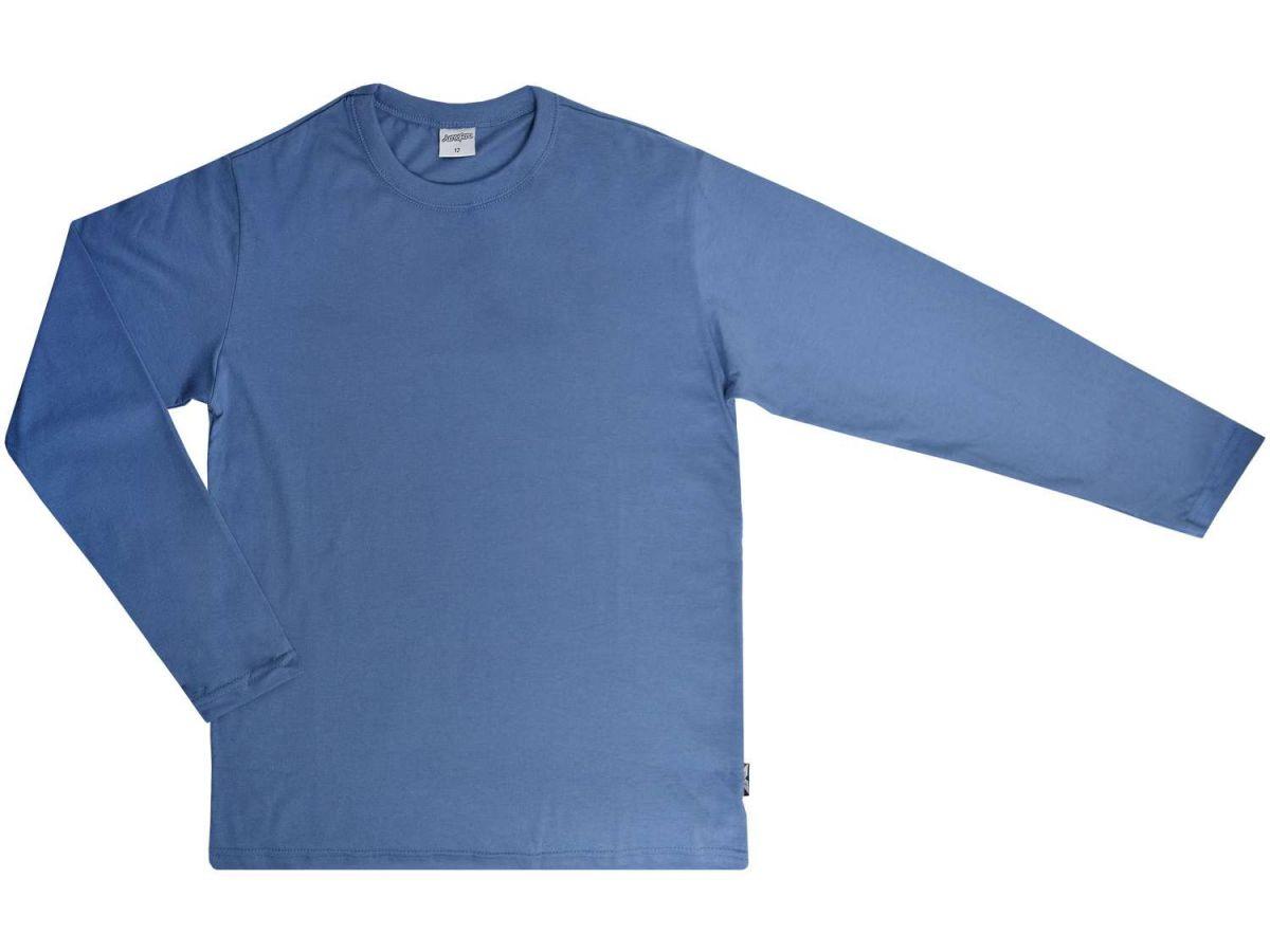 Camisa Manga Longa Azul Dila