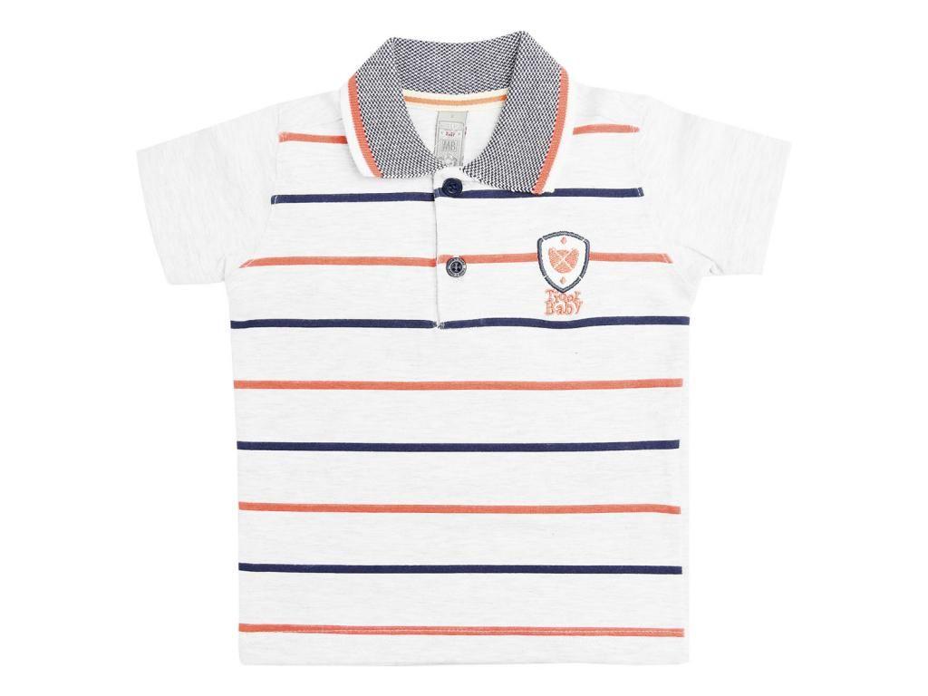 Camisa Polo Listrada Tigor T.Tigre Baby