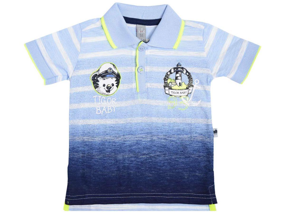 Camisa Polo Marinheiro Tigor T.Tigre Baby