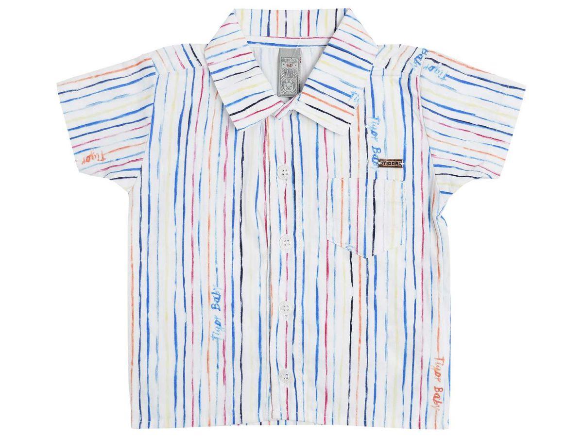 Camisa Tigor T.Tigre Listrada