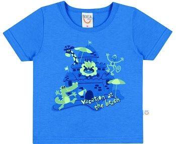 Camiseta Bebê Masculina -Boca Grande