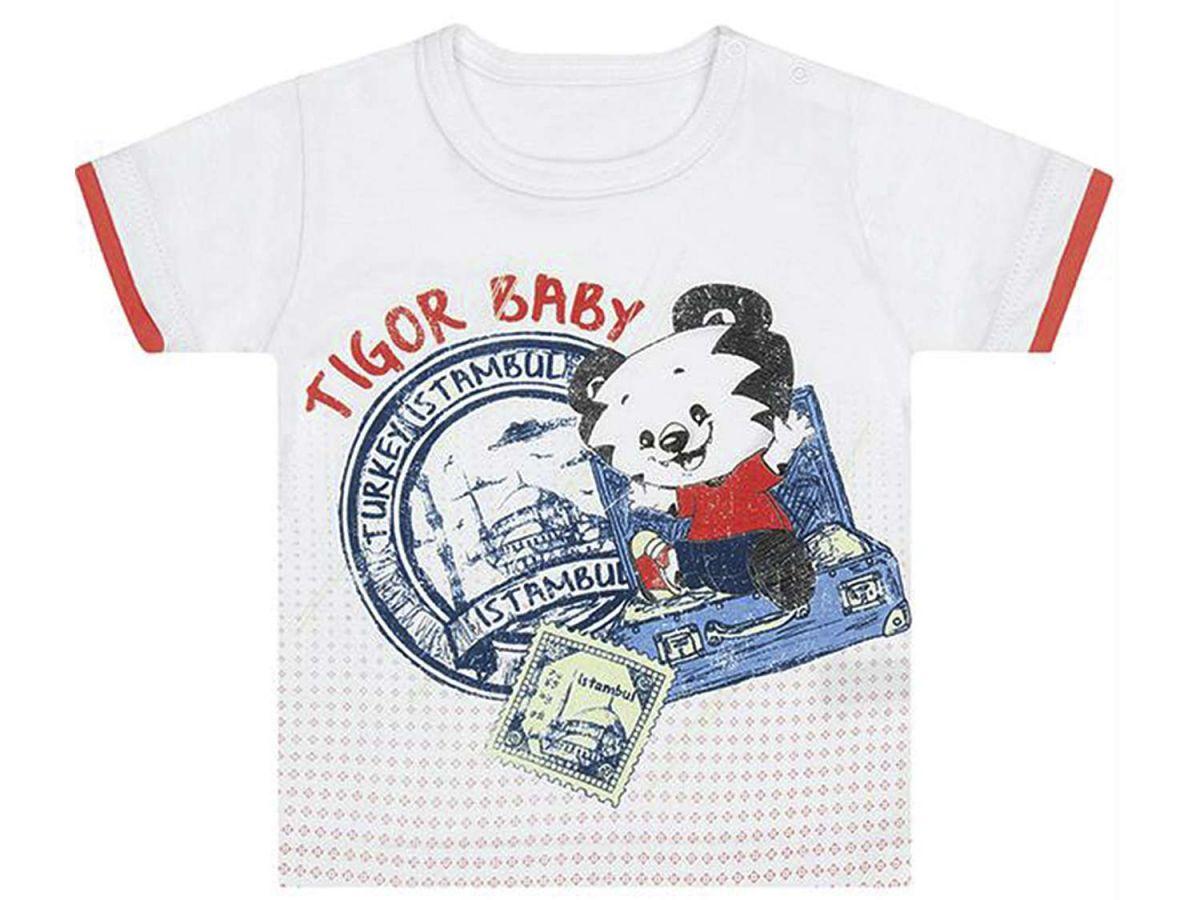 Camiseta Branca Tigor T.Tigre Baby