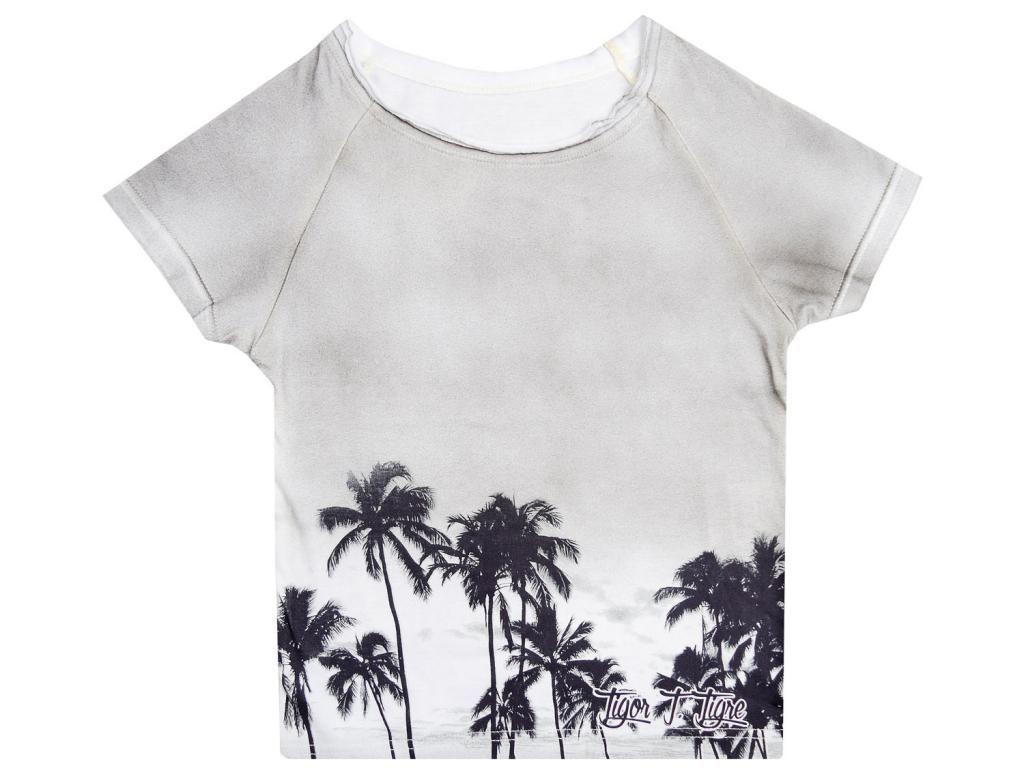 Camiseta Coqueiros Cinza Tigor T. Tigre
