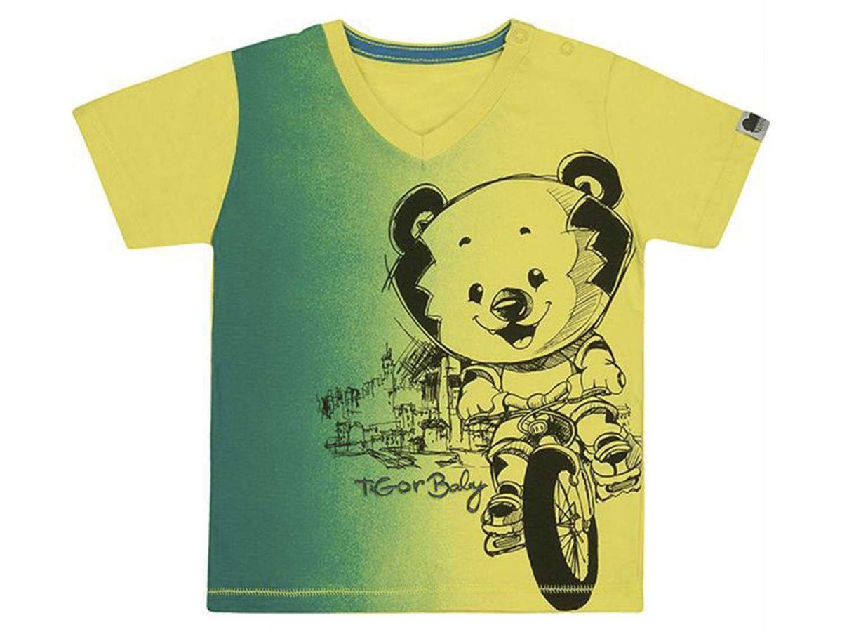 Camiseta Estampada Colorida Tigor T.Tigre Baby