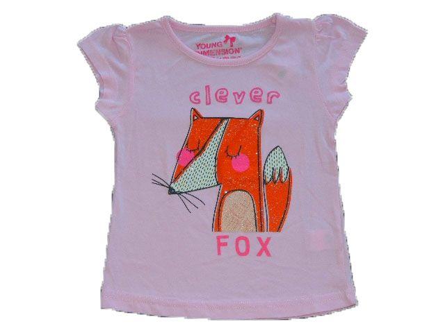 Camiseta Feminina Raposa Importada