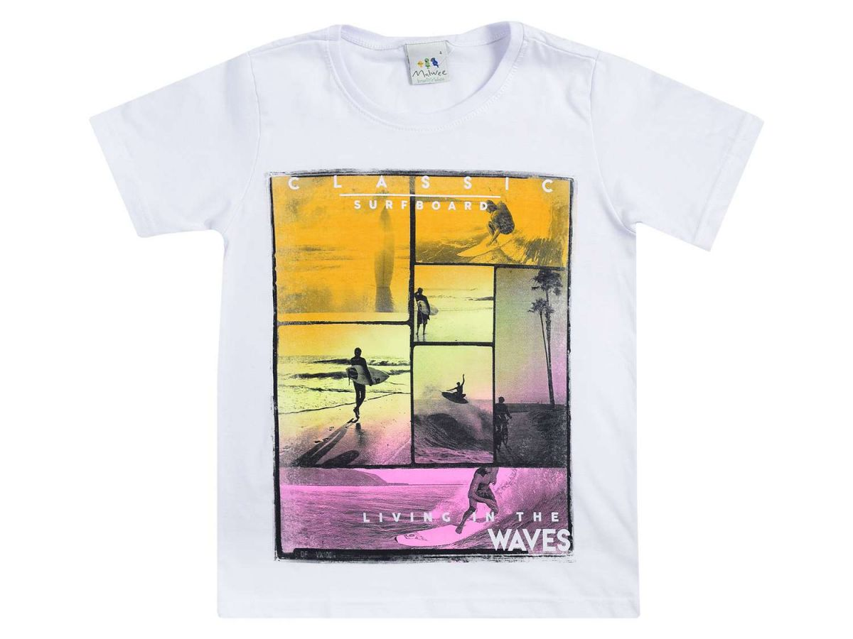 Camiseta Masculina Estampada Malwee