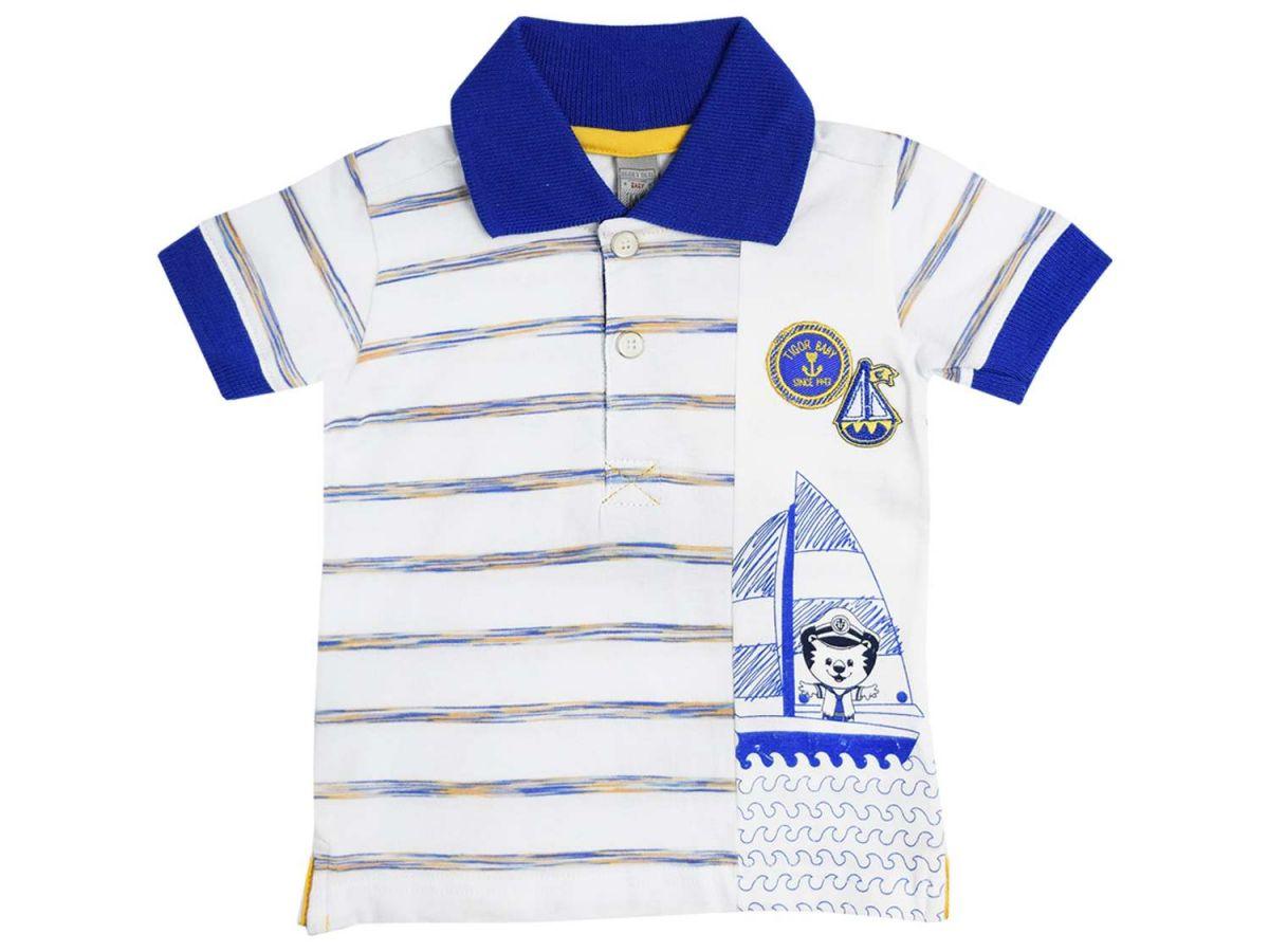 Camiseta Polo Tigor T.Tigre Baby
