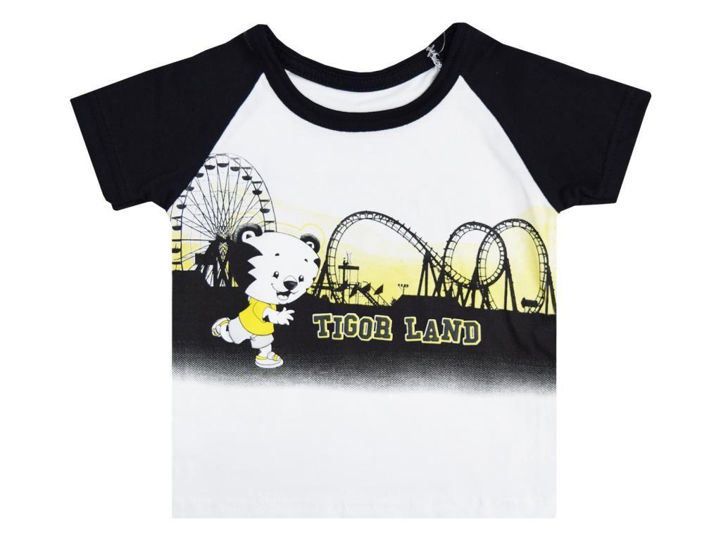 Camiseta Tigor T.Tigre Estampada Baby