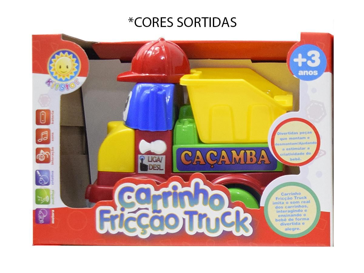 Carrinho Fricção Truck Caçamba Kitstar 212