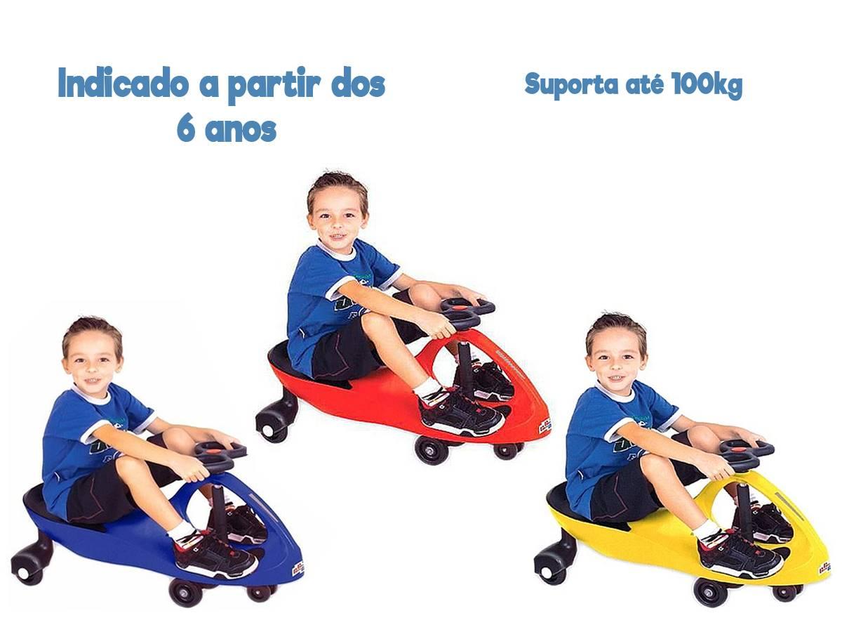 Carrinho Infantil Gira gira Car Fenix Suporta 100kgs Gx-t405