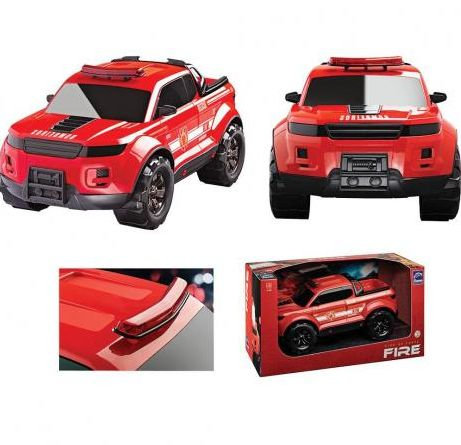 Carro Pick Up Force Fire Roma Toys 0992