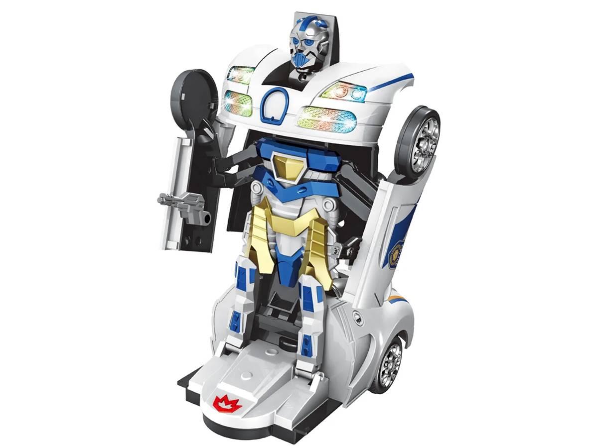 Carro Robô Policial Robot Warriors - Zoop Toys
