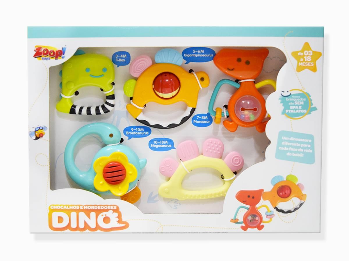 Chocalhos e Mordedores Dino Zoop Toys ZP00769