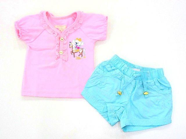 Conjunto Baby Look e Short Lilica Ripilica