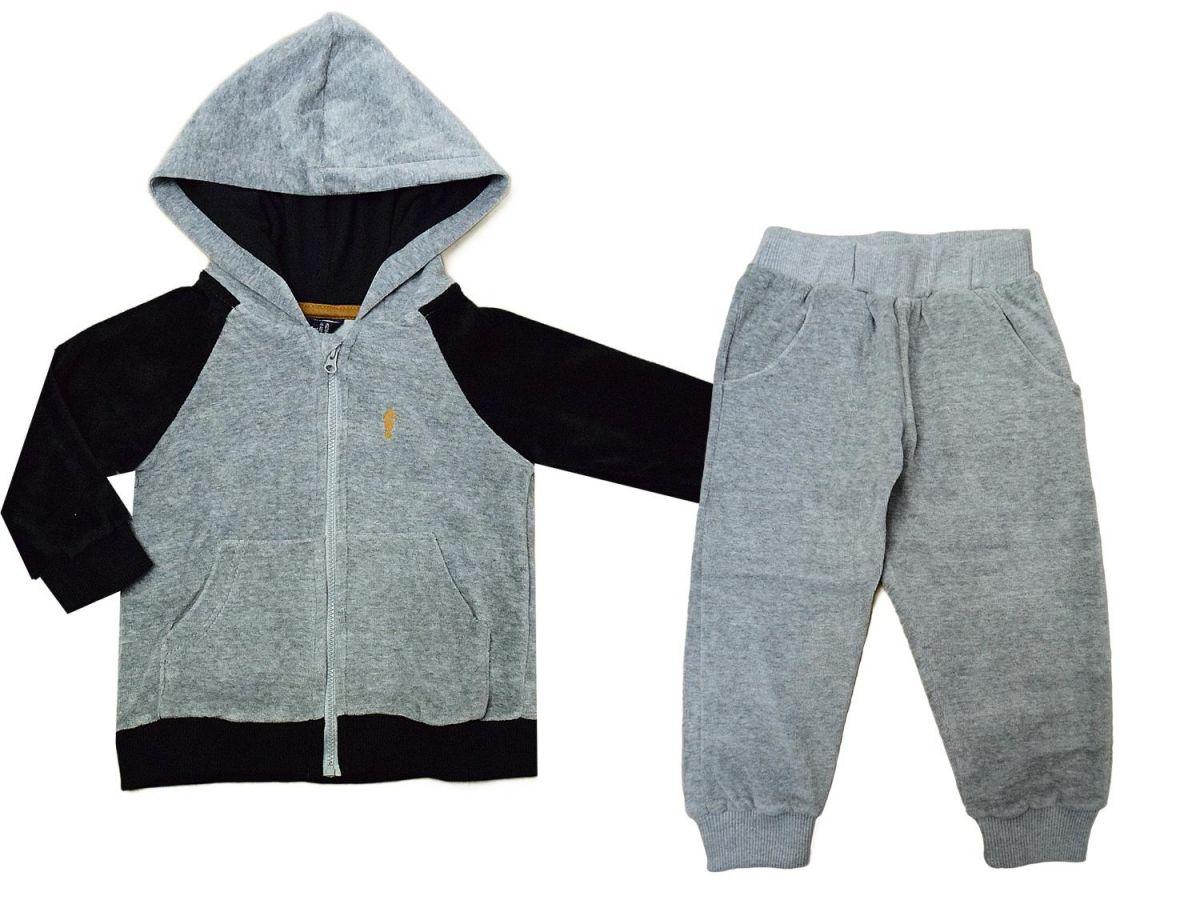 Conjunto Blusa e Calça Plush Onda Marinha A2051