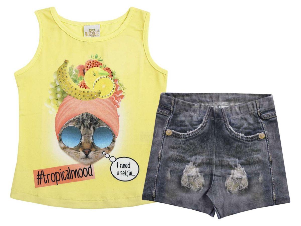 Conjunto Blusinha e Shorts Bugbee