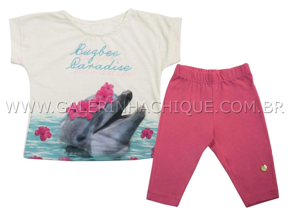 Conjunto Bugbee Blusa Golfinho e Legging
