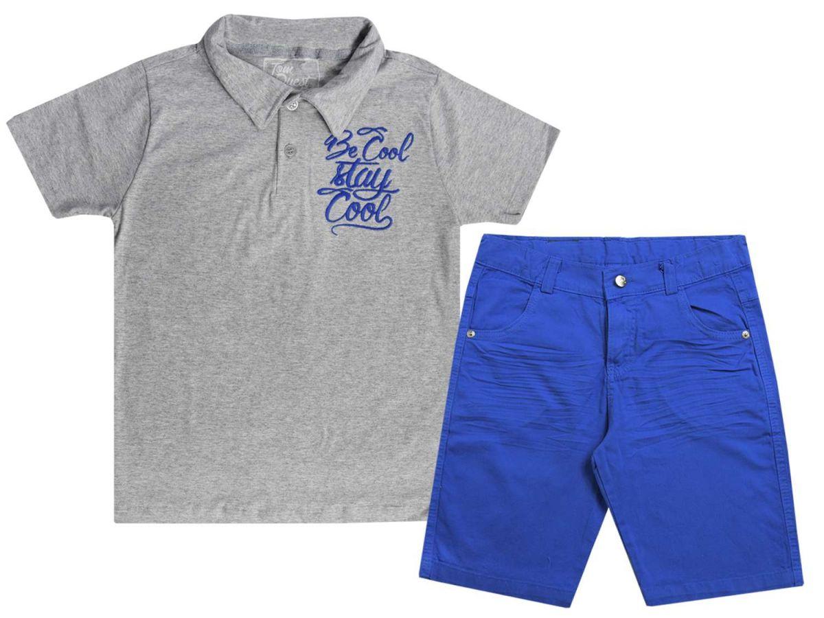 Conjunto Camisa Polo e Bermuda Tom Quest