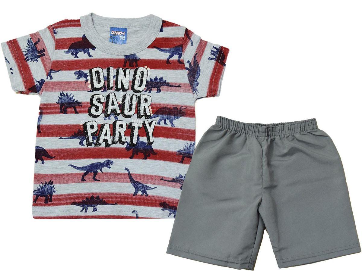 Conjunto Camiseta e Bermuda 011932072