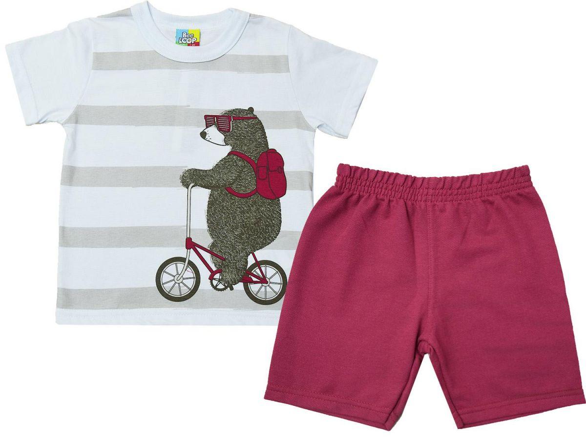Conjunto Camiseta e Bermuda Bee Loop 120813378