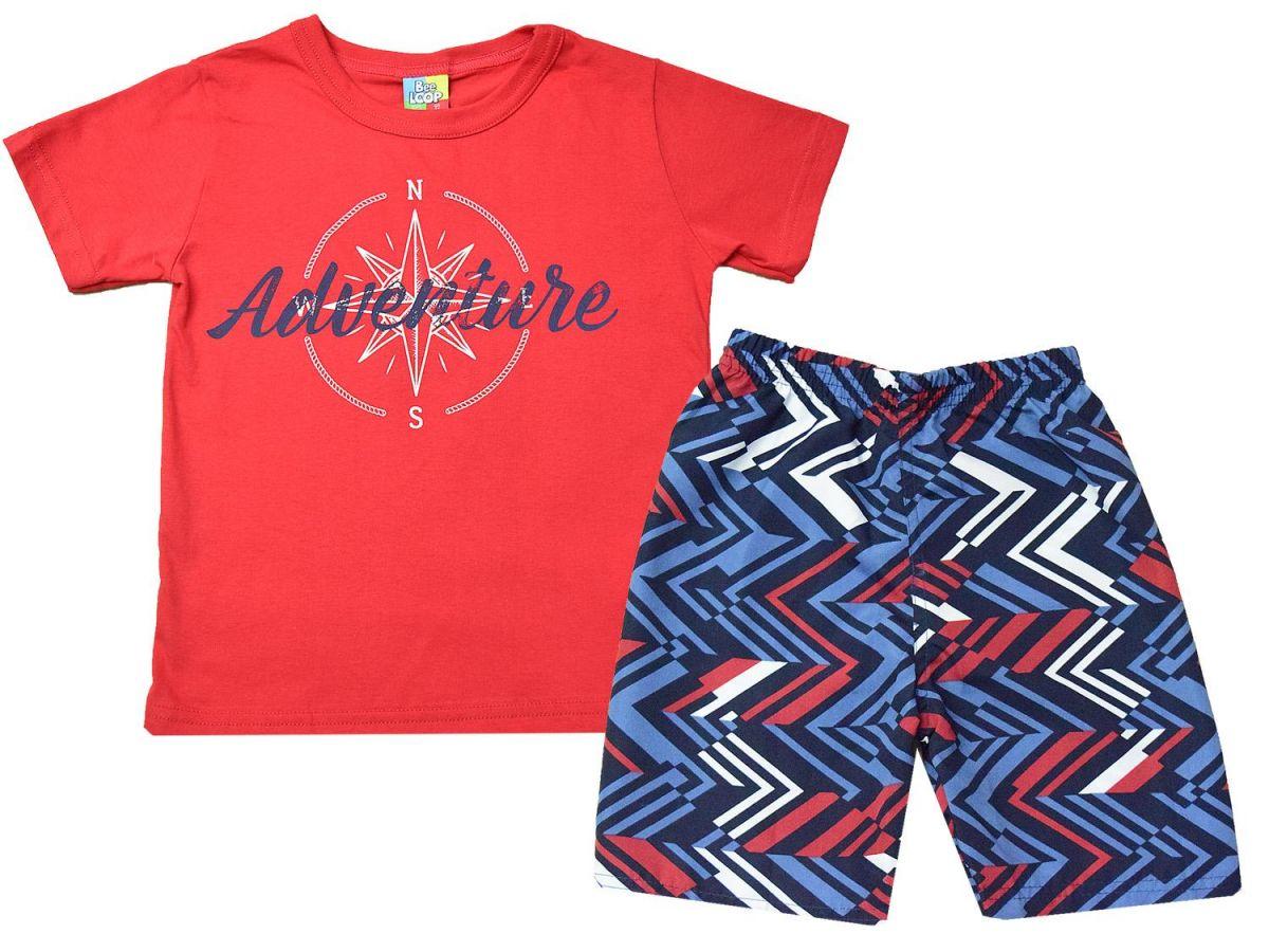 Conjunto Camiseta e Bermuda Bee Loop 120813387