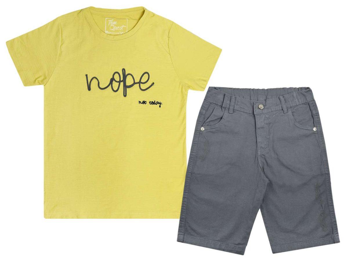 Conjunto Camiseta e Bermuda Tom Quest