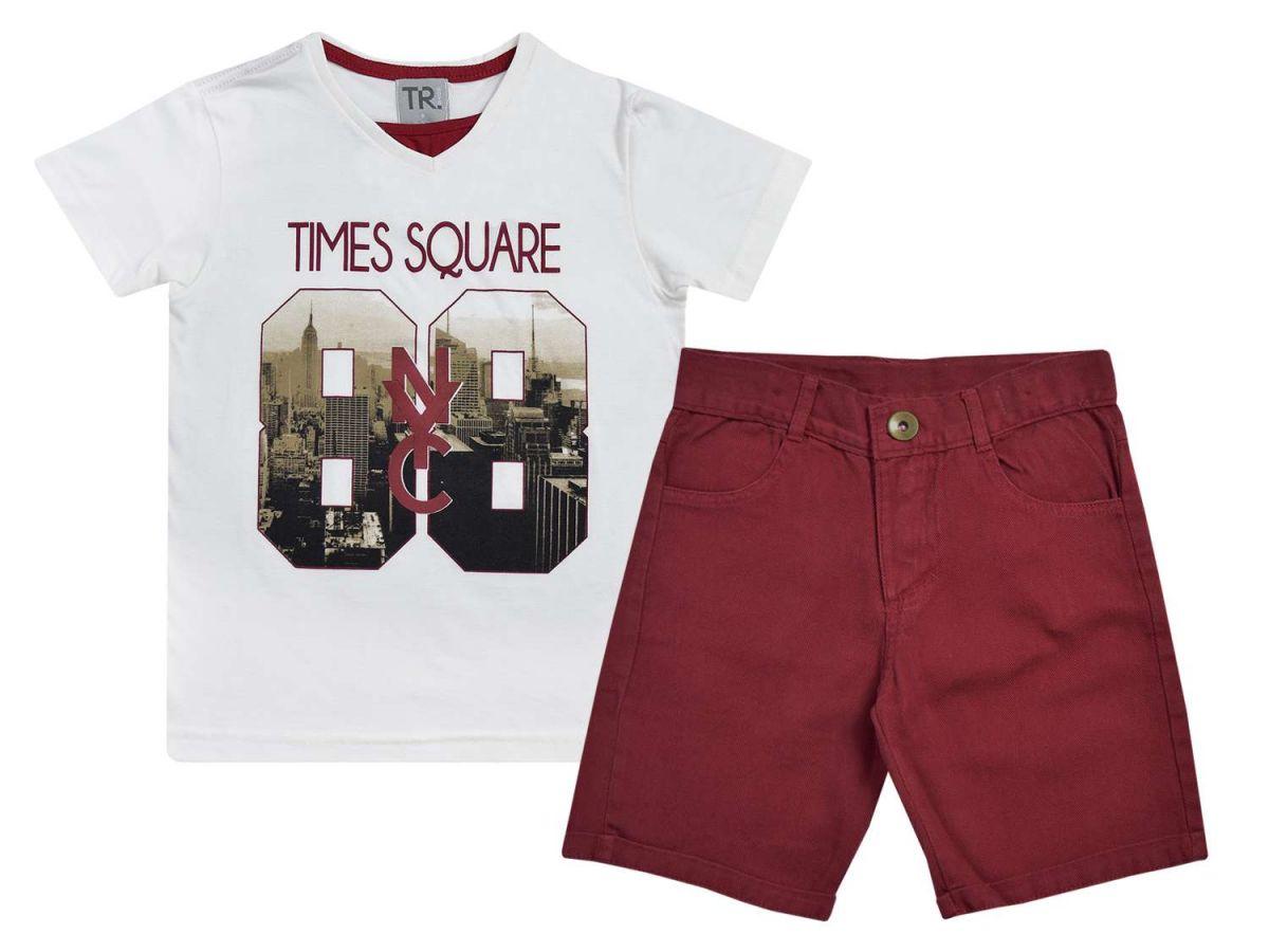 Conjunto Camiseta e Bermuda TR Boys