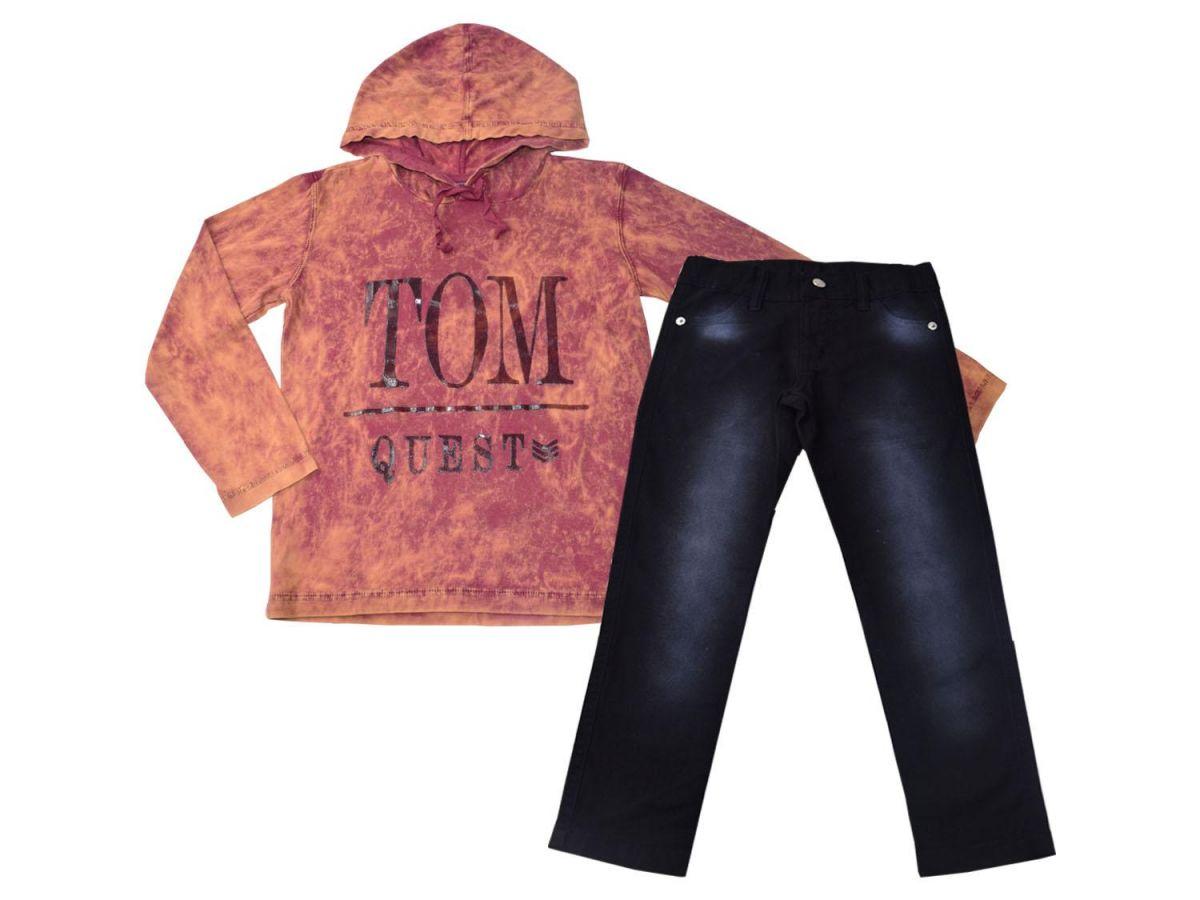Conjunto Camiseta e Calça Le Petit Tom Quest