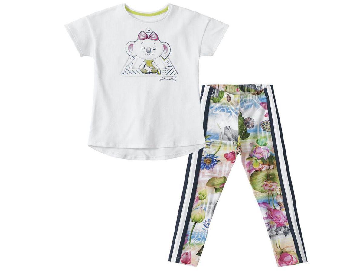 Conjunto Camiseta e Legging Lilica Ripilica 10109512