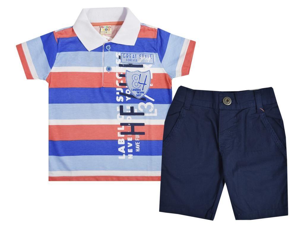 Conjunto Camiseta Polo e Bermuda Have Fun