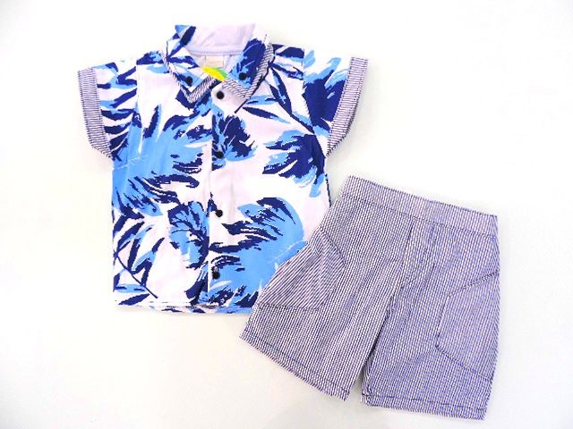 Conjunto Masculino Camisa e Bermuda Koxilinho