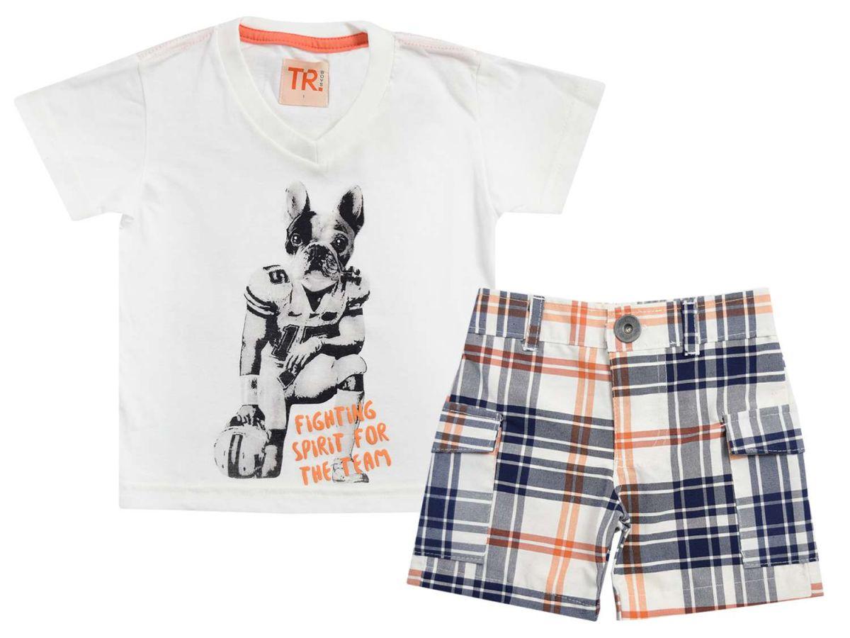 Conjunto Masculino Camiseta e Bermuda TR Boys