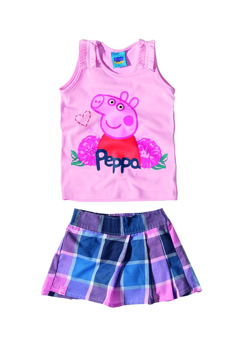 Conjunto Peppa Pig Malwee
