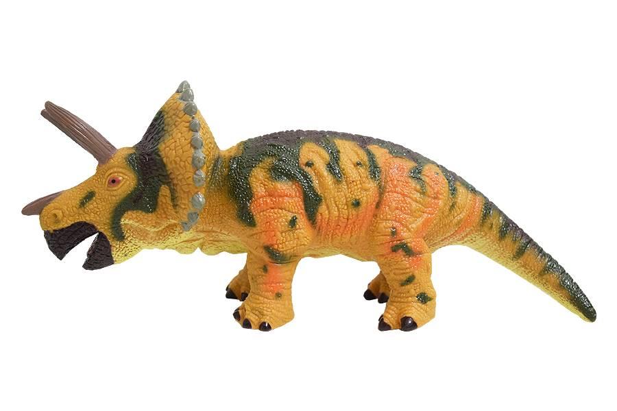 Dinossauro Coleção Soft Triceratops com Som Zoop Toys