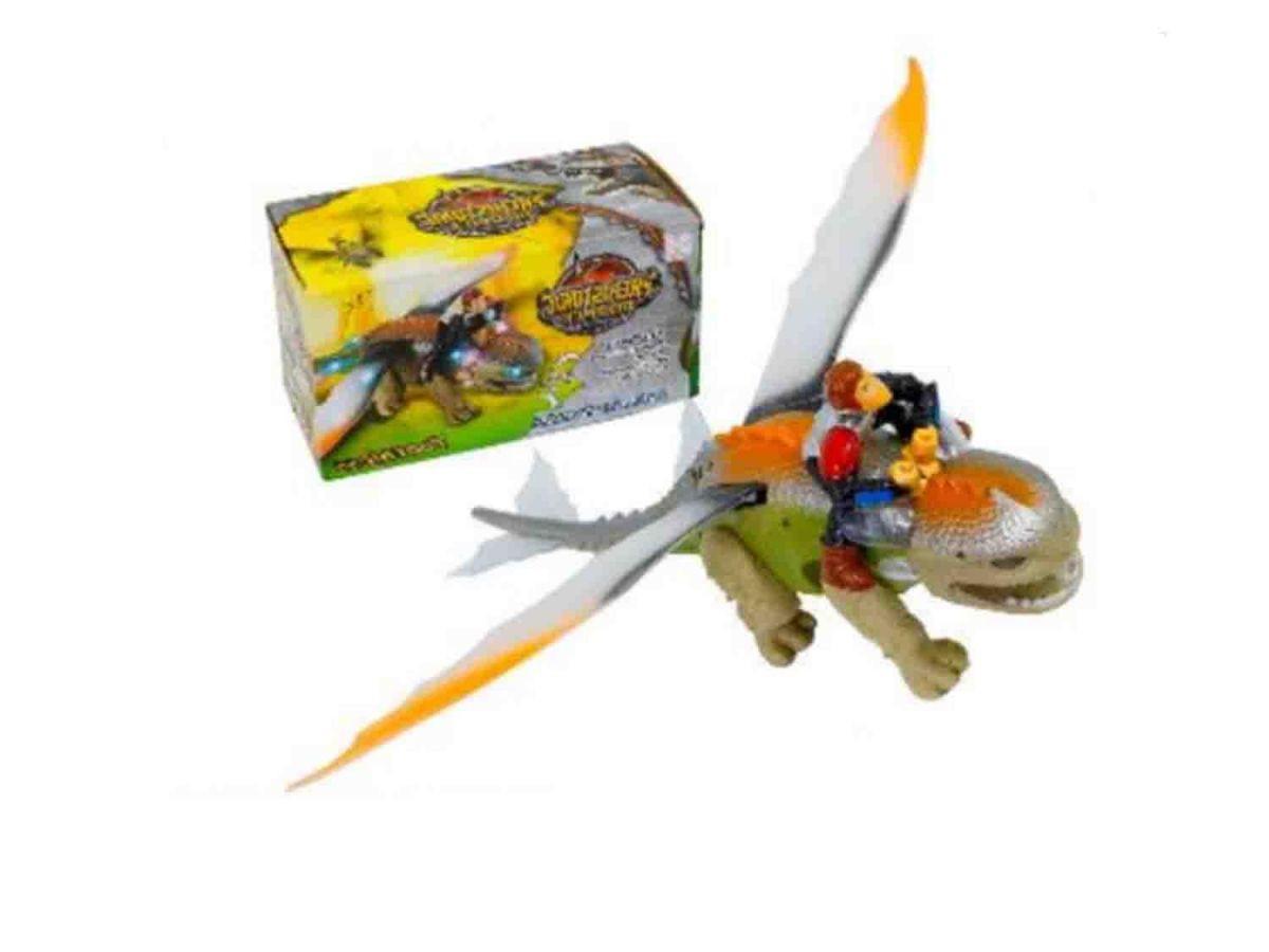 Dinossauro Dragão e Boneco ASH152997
