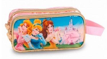 Estojo Princesas Castelo Soft 2 Divisórias