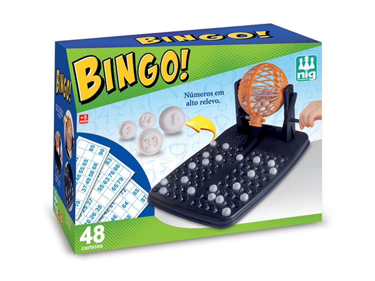 Jogo Bingo Nig Brinquedos 01000