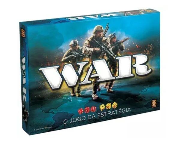 Jogo de Tabuleiro War Grow 02000