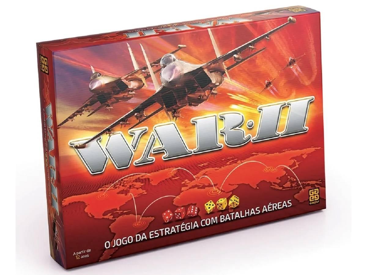 Jogo de Tabuleiro WAR II Estratégia Original Grow 01780