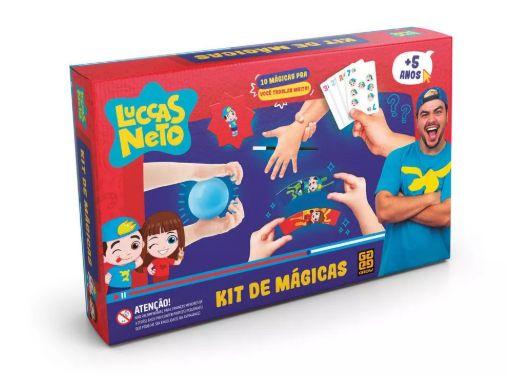 Jogo Kit de Magicas Luccas Neto Grow