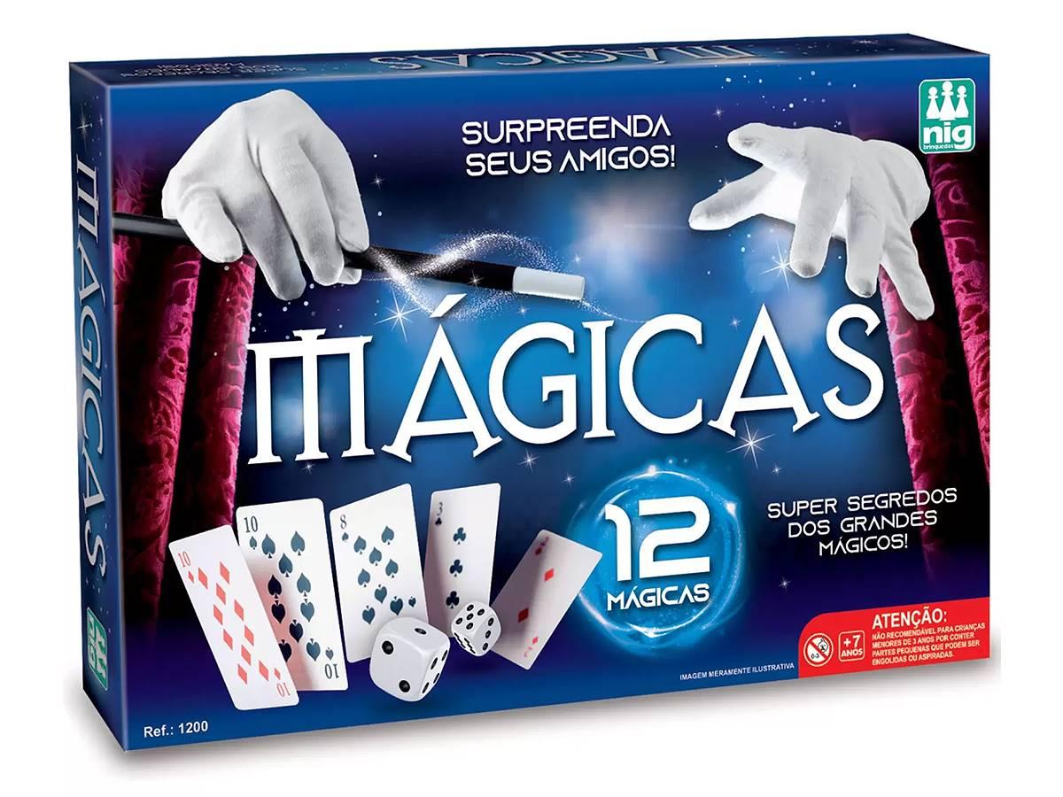 Jogo Mágicas 12 Truques Nig Brinquedos