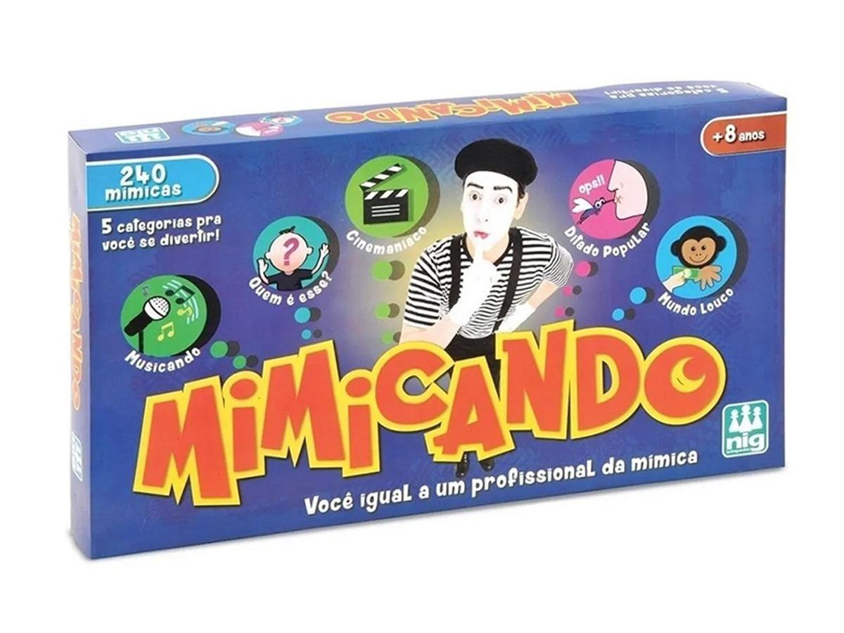 Jogo Mimicando Nig Brinquedos 1130