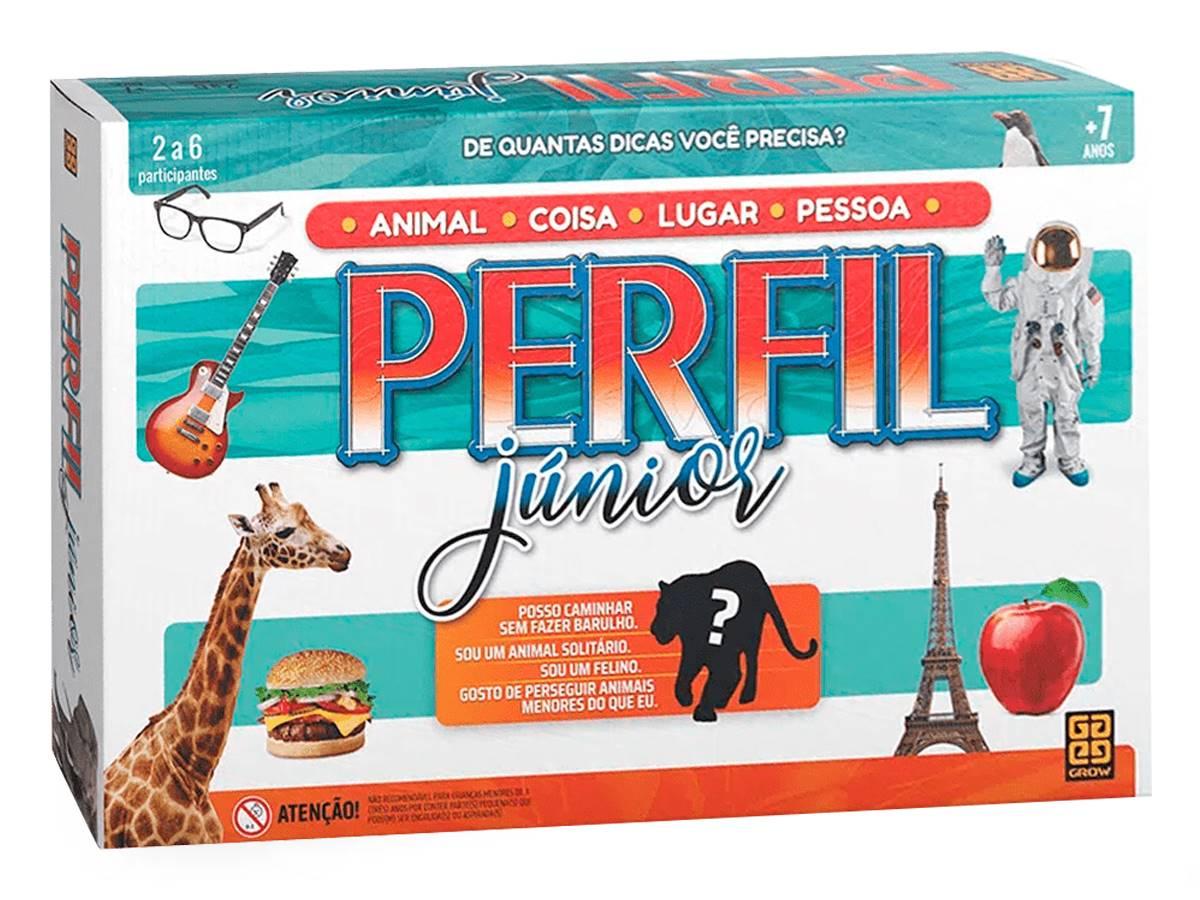 Jogo Perfil Júnior Original Grow 01979