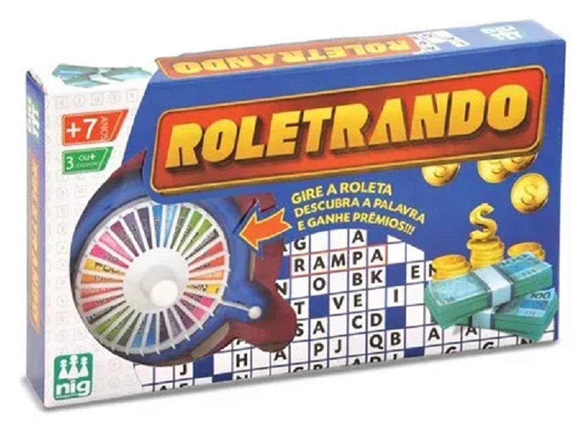 Jogo Roletrando Nig Brinquedos 1620