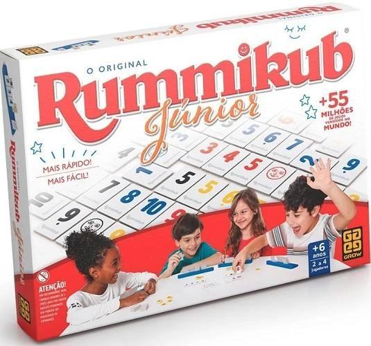 Jogo Rummikub Júnior Grow - 03513