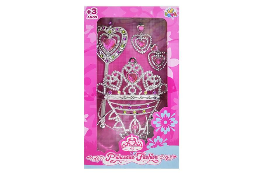 Kit Acessórios de Beleza Princesas Fashion Zoop Toys