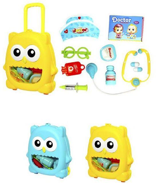 Kit Maleta Doutor Corujinha DM Toys DMT5662