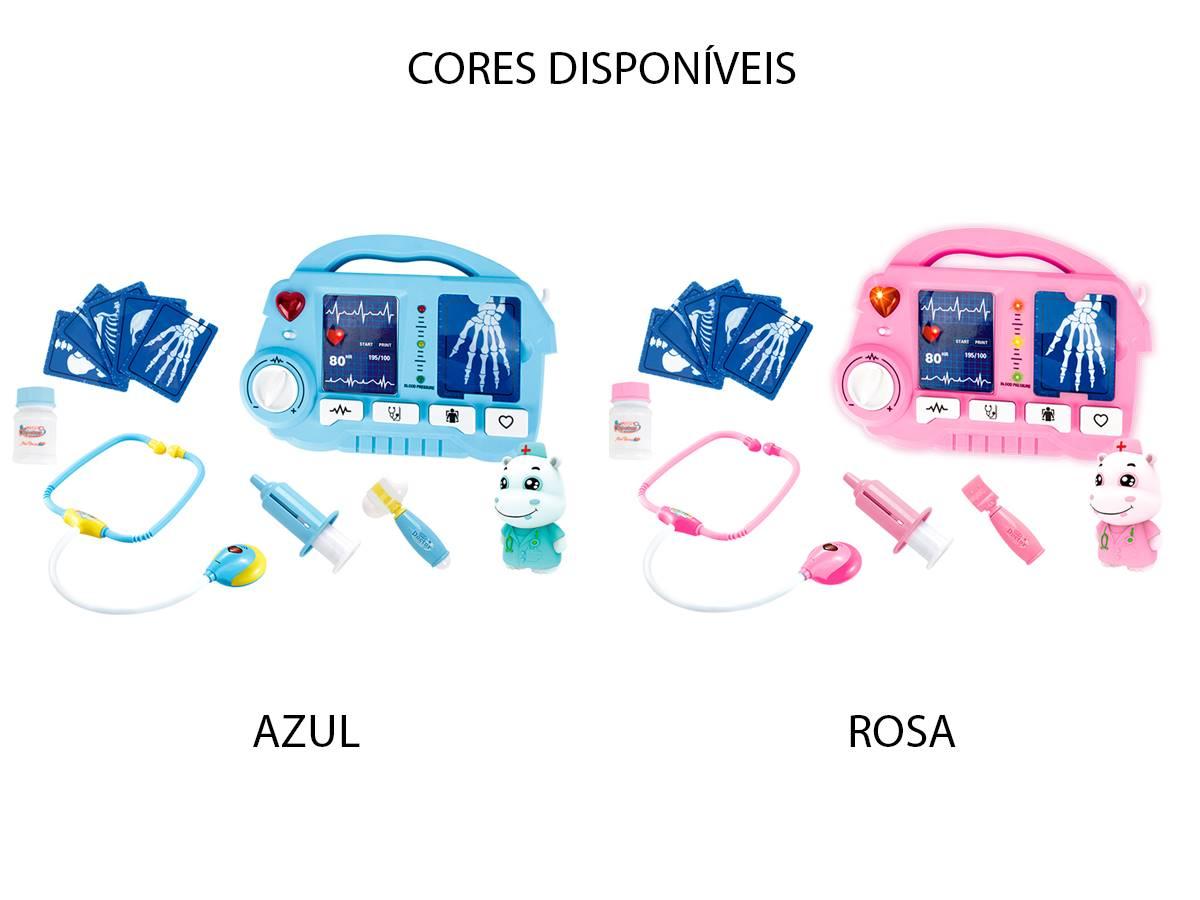 Kit Médico Raio X Com Luz e Som Fenix