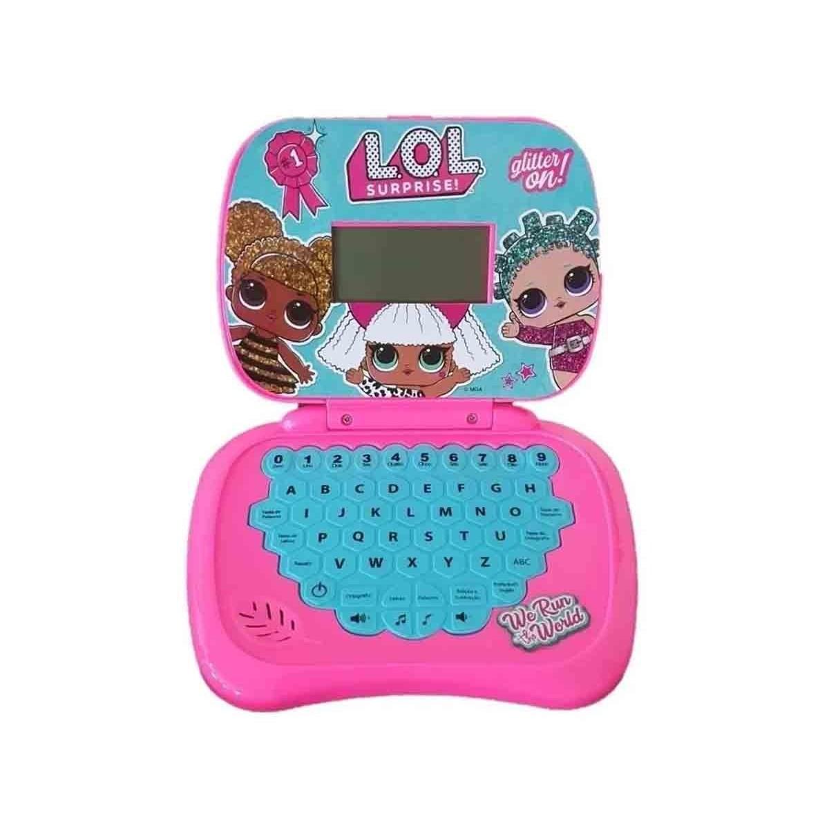Laptop De Atividades Infantil Bilíngue LOL Surprise Candide 9815