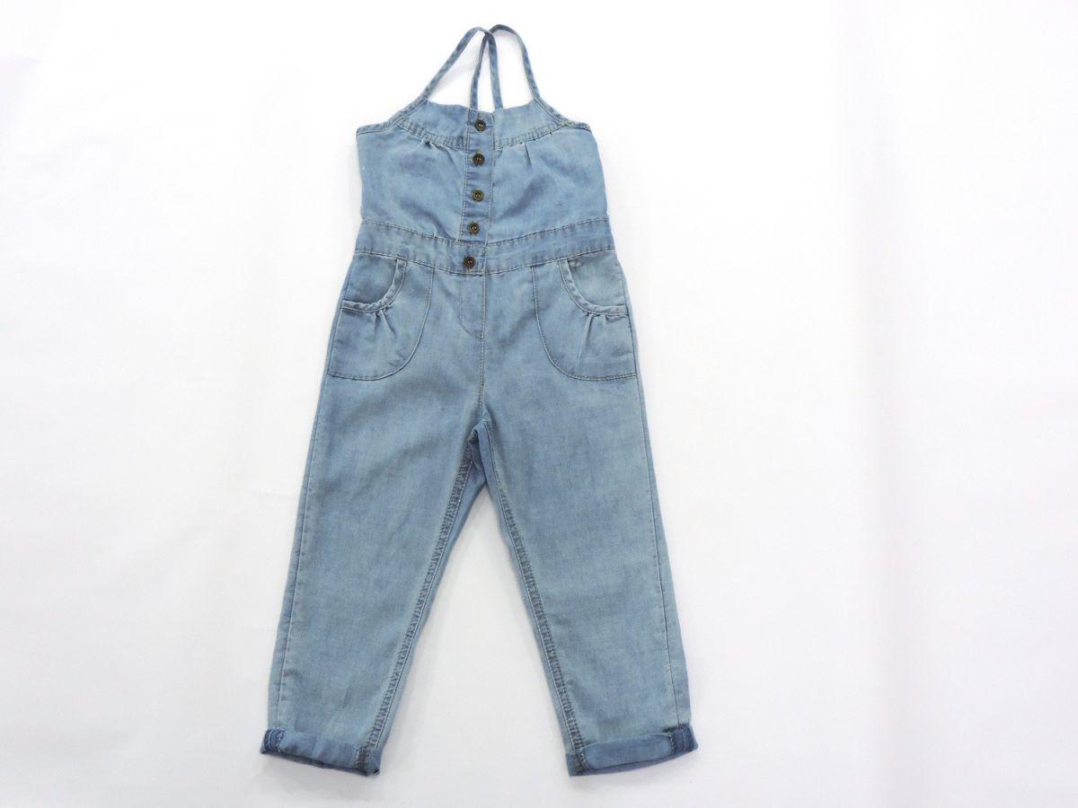 Macacão Jeans Feminino Importado